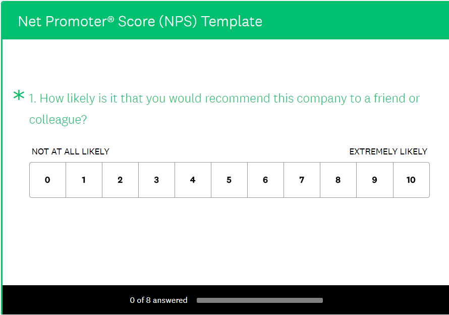 feedback survey example email template