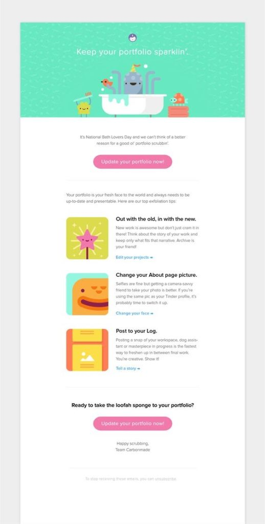 dribble_email_introduction_to_new_customer
