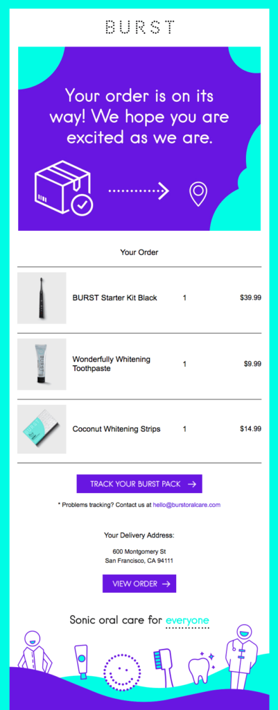 burst_health_care_product_order_confirmation_email