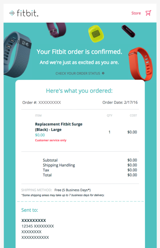 fitbit_electronic_device_order_confirmation_email