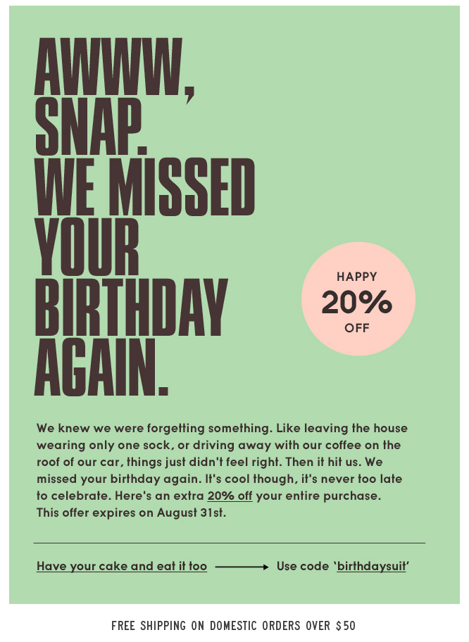 need_supply_vintage_birthday_email_to_subscribers