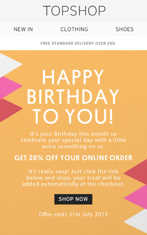 topshop_automated_happy_birthday_email_with_classic_approach.