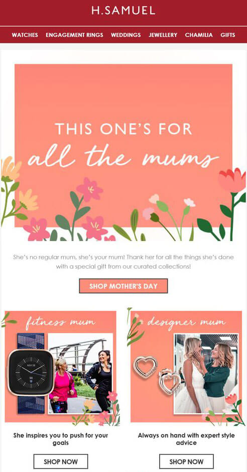 mothers_day_email_with_relevant_products