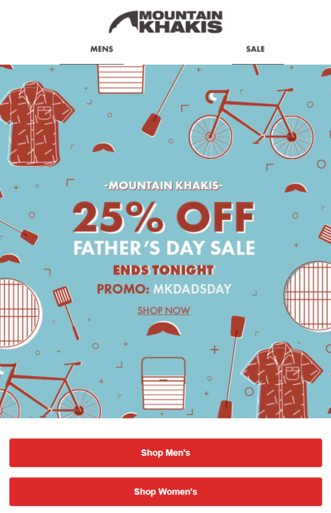 special_fathers_day_promotional_email