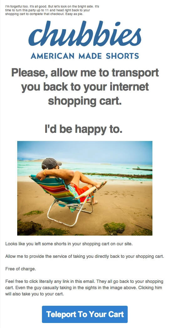 chubbies_friendly_and_fun_abandoned_cart_reminder_email