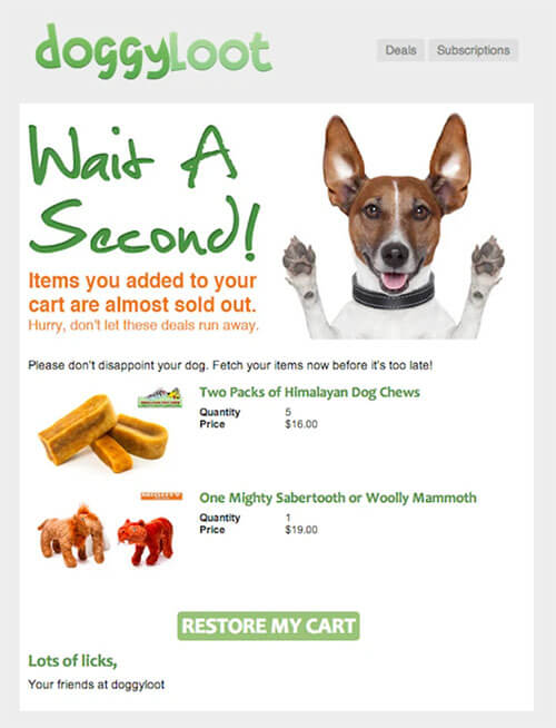 doggylot_great_brand_contextual_copy_email