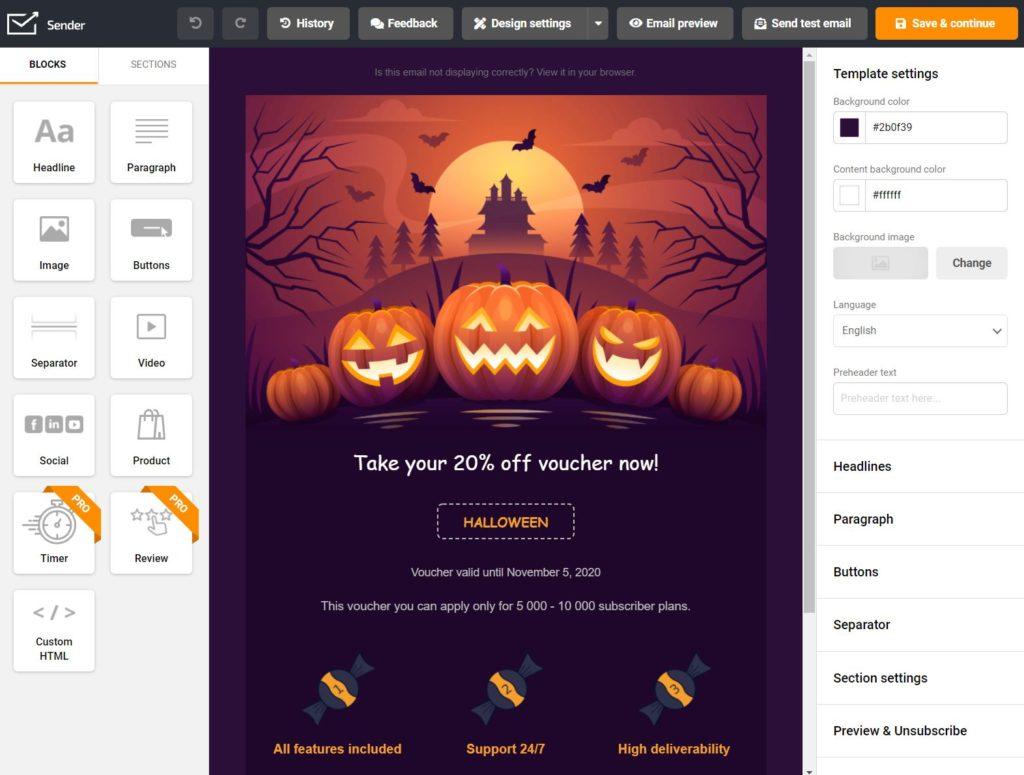 halloween_email_design_builder